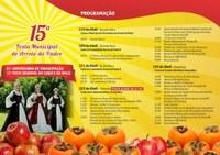 15ª Festa Municipal de Arroio do Padre, 21° Aniversário de Emancipação e 11ª Festa Regional do Caqui e da Maçã