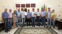 Câmara de Vereadores recebeu a visita do Juiz Diretor do Foro da Comarca de Pelotas, Marcelo Malizia Cabral