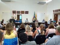 Câmara realiza Audiência Pública com a presença dos servidores municipais
