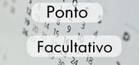 Ponto Facultativo - Data oficial da criação do Município - 17 de abril de 2017
